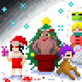クリスマスドット(遅)