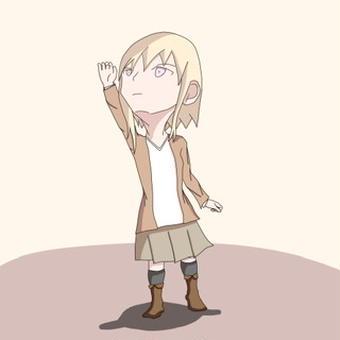 【オリキャラ】衣替えエリス【せかへい】