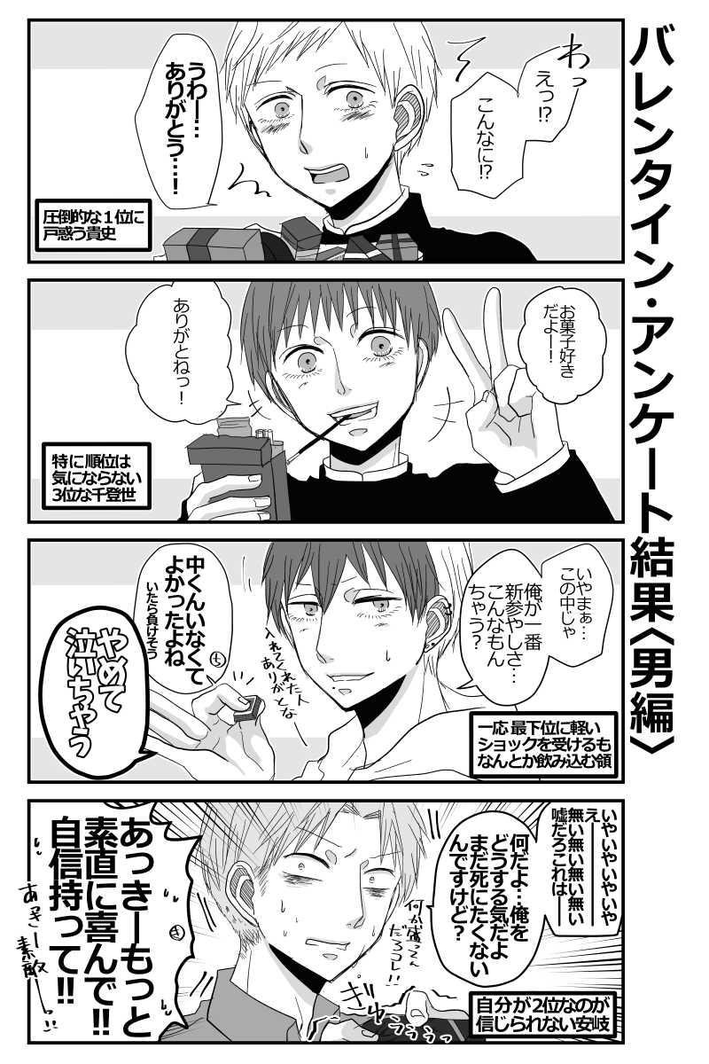 【バレンタイン落書き】