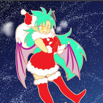 突貫クリスマス絵