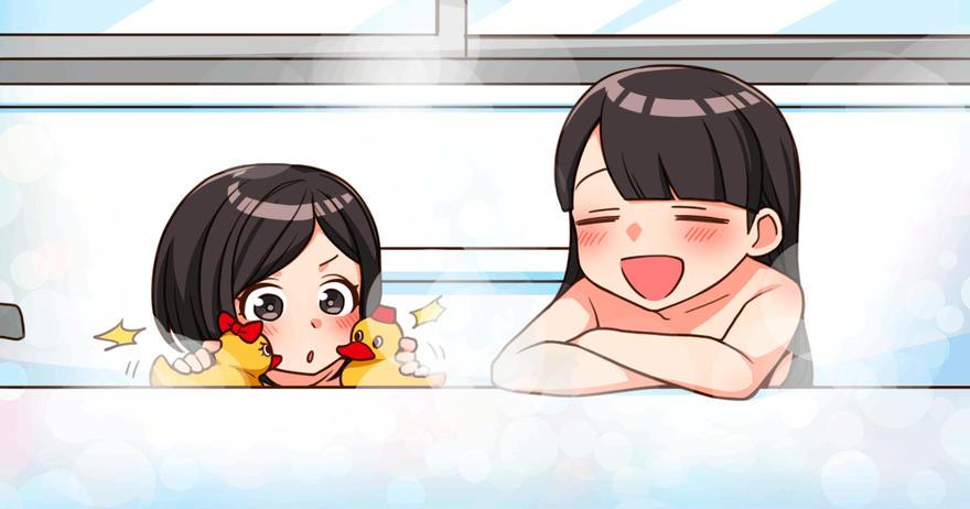 お風呂でリラックス♪
