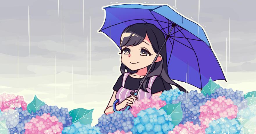 梅雨を楽しむ♪
