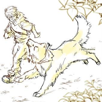 【特別なイヌ】マイルとラスト
