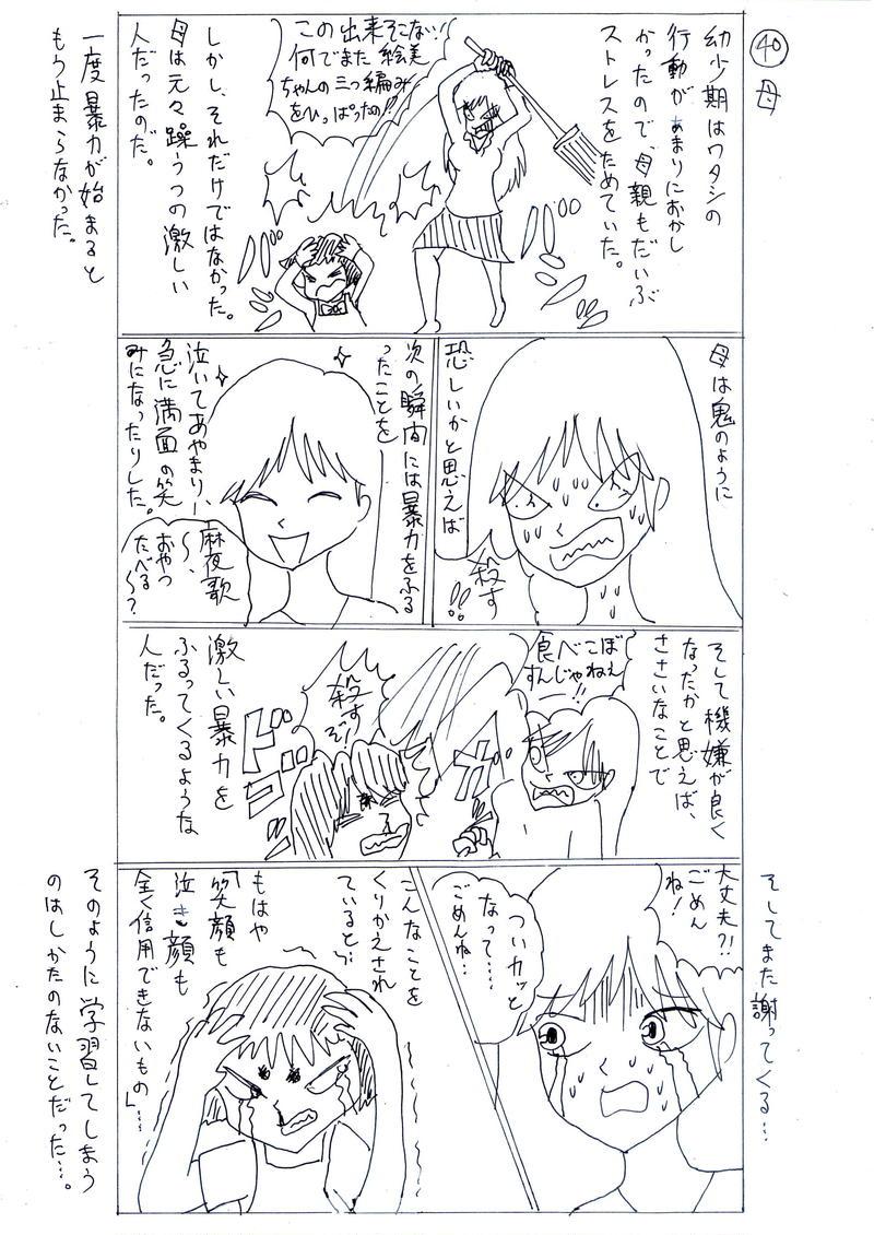 奇行児と虐待ママ