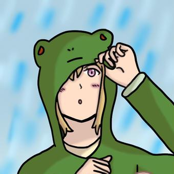 【オリキャラ】エリス雨具【せかへい】