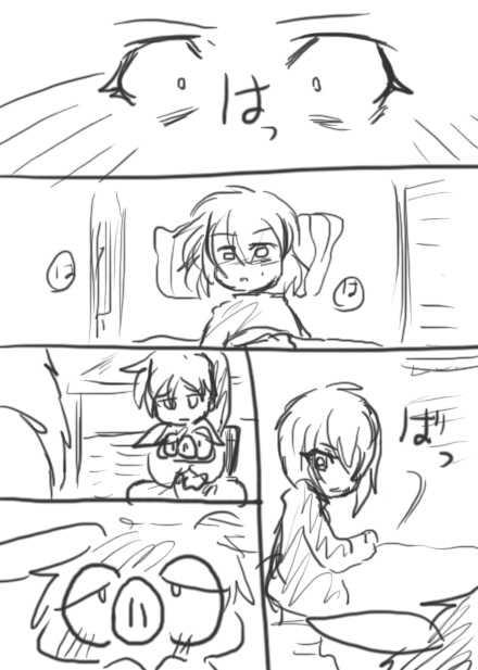 121話・らくがき漫画
