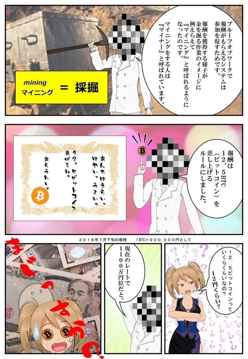 まんが 仮想通貨のふしぎ 第4話