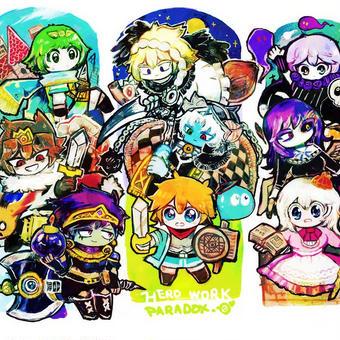 キャラクター集合!
