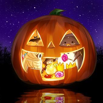 かぼちゃの船
