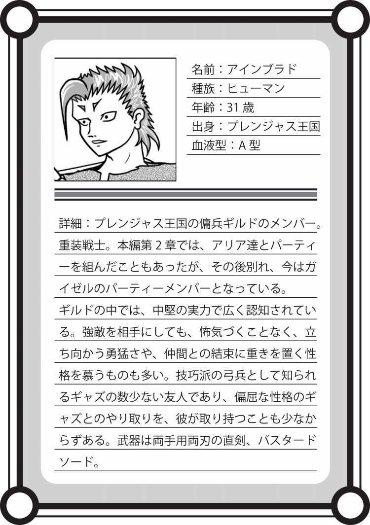 【キャラ紹介】アインブラド
