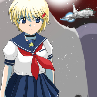 超光速セプター01 第2二話「宇宙ステーションの危機」