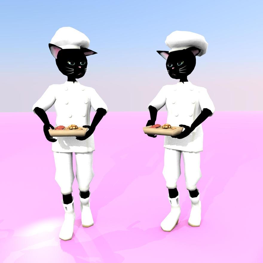 黒猫パン屋さん