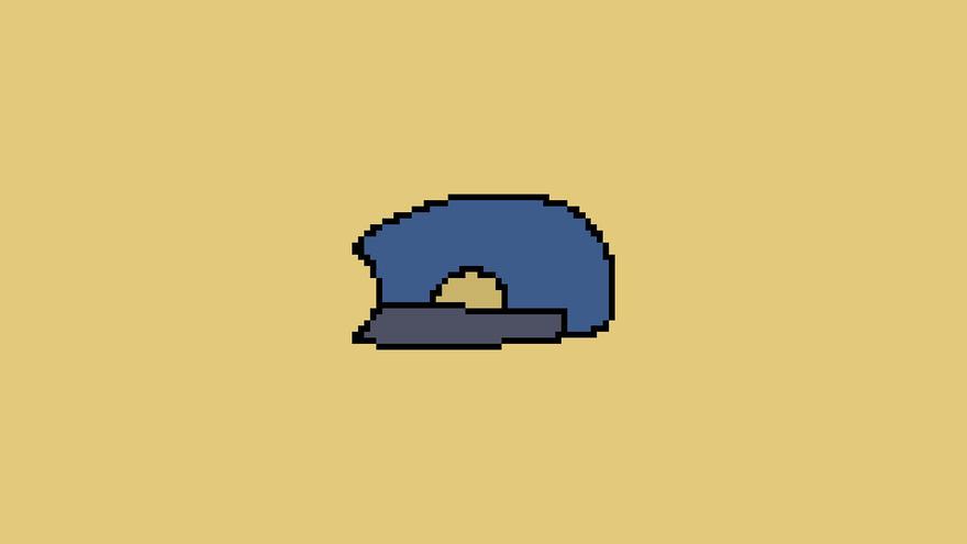 【オリキャラ】ドット絵の帽子【ピラフドリア】