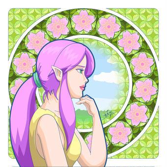 桜咲くなんたらのイラコン