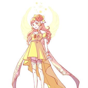 フィッシュテイルのドレス