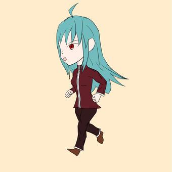 【オリキャラ】走るヤマブキ【せかへい】
