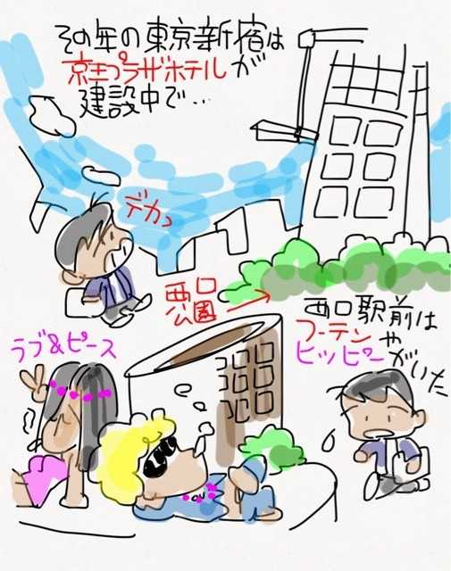 1969年、18の春、マンガ家を夢見て上京。