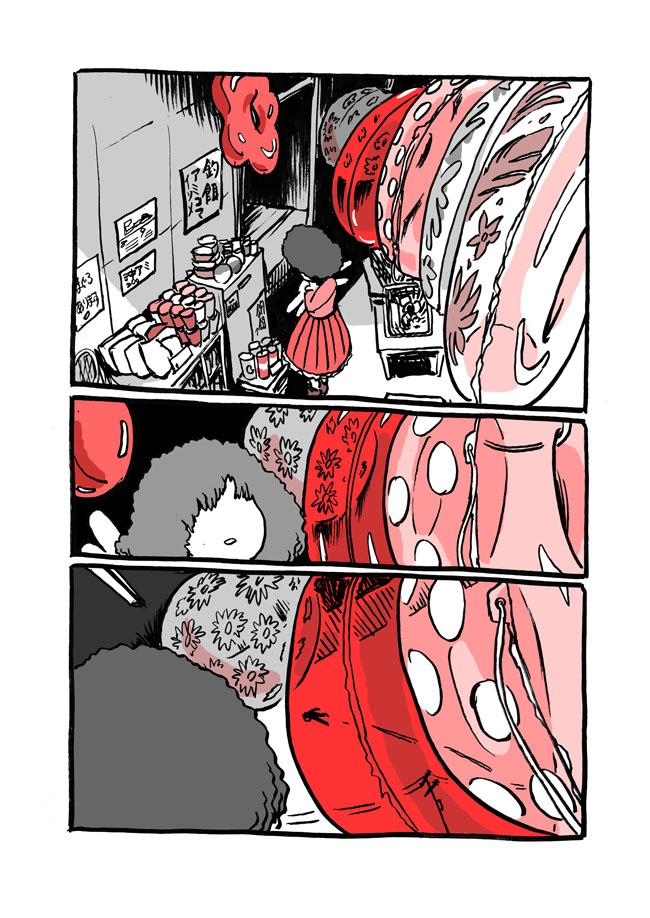 十七話目「赤は血の色」