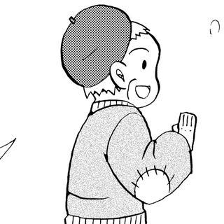 真っ赤なベレー帽の漫画家さんは皆の…?
