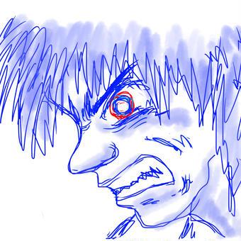 青い怒り01