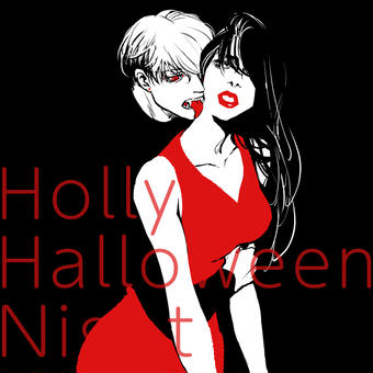 Holly Halloween Night
