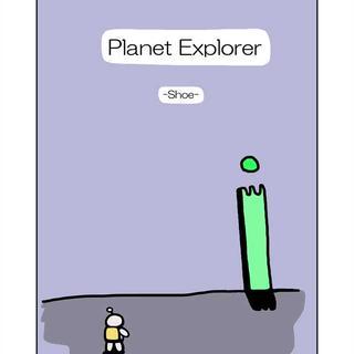 Planet Explorer -shoe-