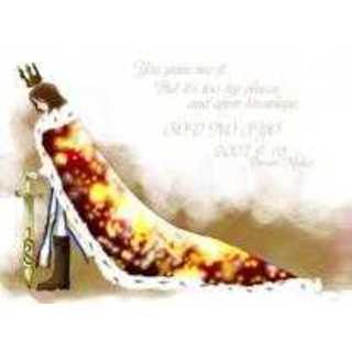 今の王様が即位したての頃、紫蘭との出会い。