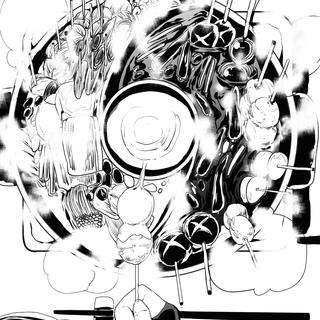 【電子書籍版百妖鬼第二巻配信告知漫画】(さり気に第一巻宣伝憑き)