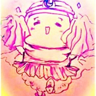 クローバーちゃんと弟ゼットちゃんと栗鼠姫ヒトコマ漫画。