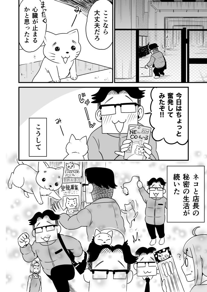 第8話『店長と子猫』