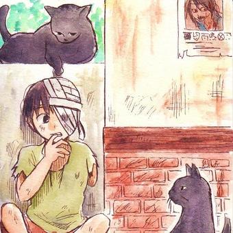 黒猫感謝の日3