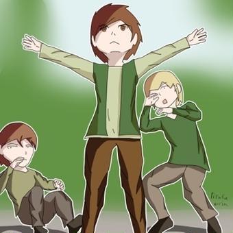 【オリキャラ】仲間を守れ! パト!!【せかへい】