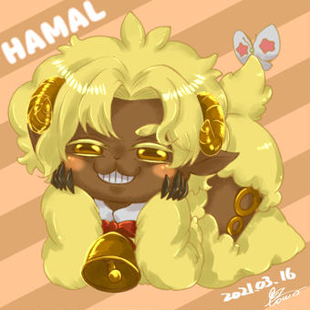 牡羊座ハマル