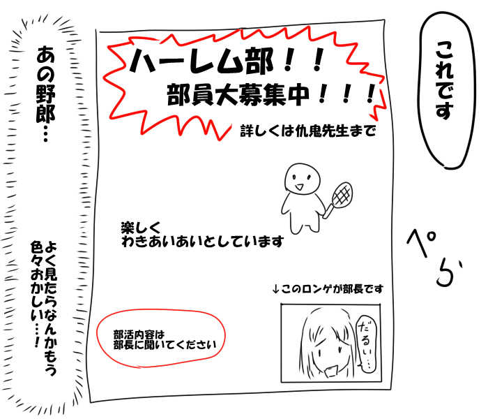 第2話 ハーレム部スタート!?